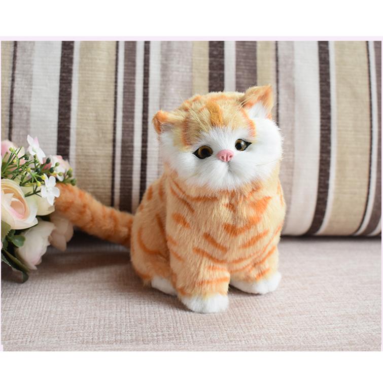 Mô hình Mèo Vằn Vàng WY322