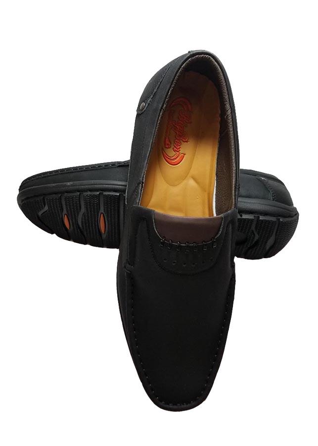 Giày Mọi Nam BIGGBEN Da Bò Thật Cao Cấp GM109