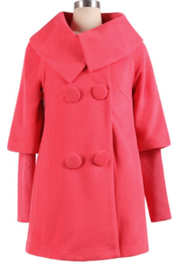 Áo khoác thu đông kiểu áo khoác dạ phối tay len cao cấp AKD0263