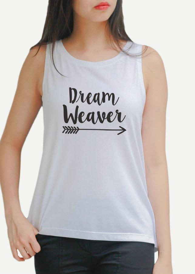 Áo Tanktop Nữ Dream Heaven - Trắng