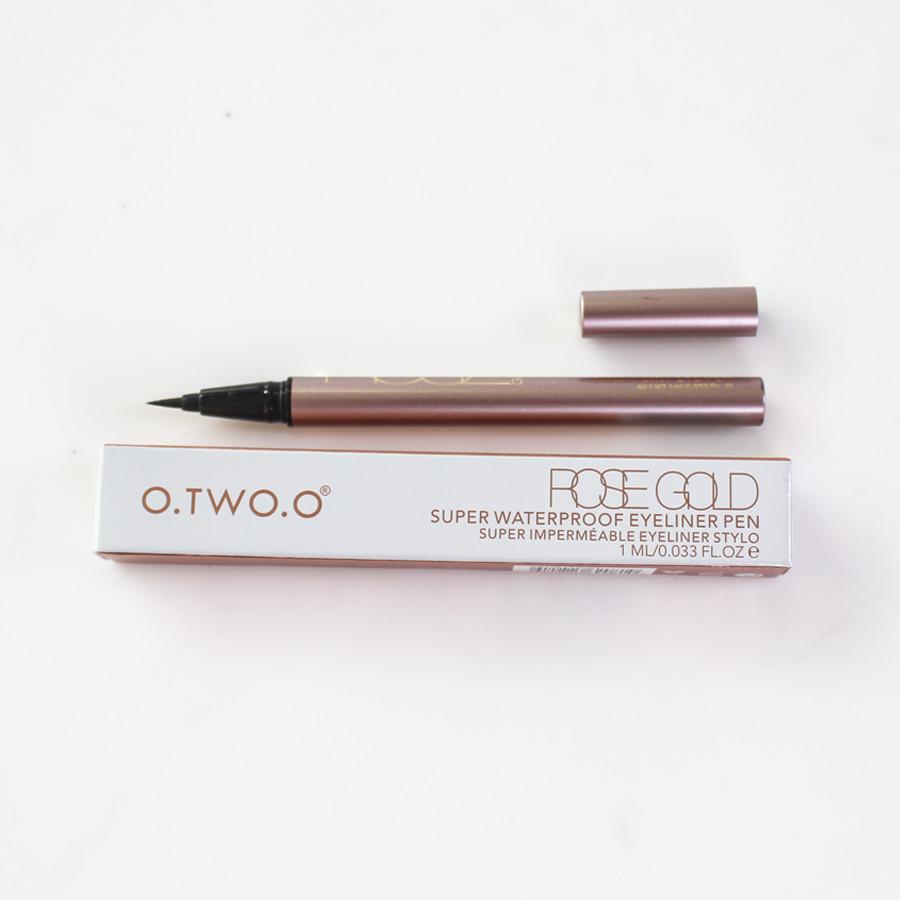 Bút kẻ mắt nước O.Two.O rose gold super waterproof eyeliner pen