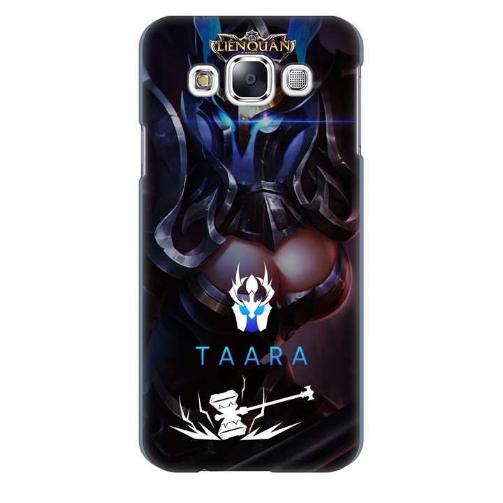 Ốp lưng nhựa cứng nhám dành cho Samsung Galaxy E5 in hình Taara
