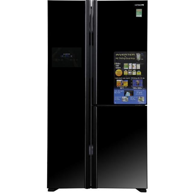 Tủ lạnh SBS Hitachi R-FS800GPGV2 (GBK) - 605 Lít - Hàng chính hãng