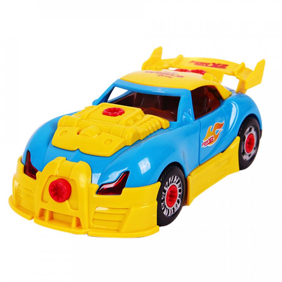 Dismantling Automobile DIY Disassembly Supercar Cute DIY Plastic Parent-Child Interaction Education