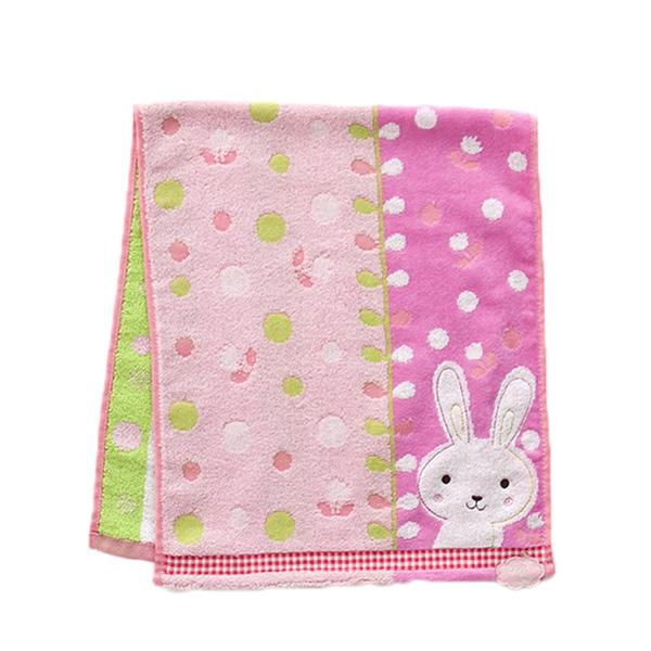 Khăn tắm Nissen cao cấp mẫu thỏ hồng nội địa Nhật Bản