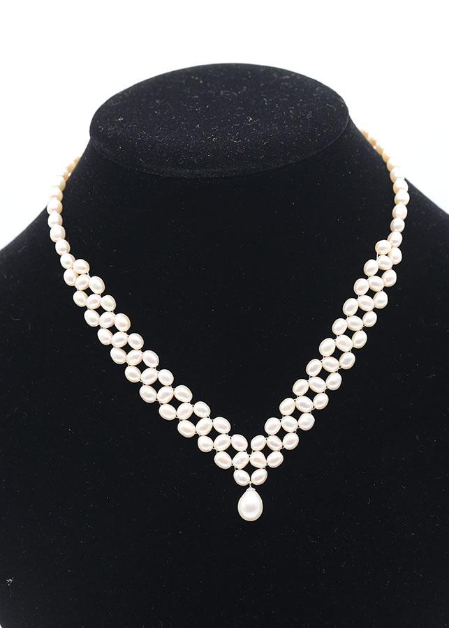 Vòng ngọc trai cao cấp, thời trang quý phái Queen Pearl DB-2120 Bảo Ngọc Jewelry