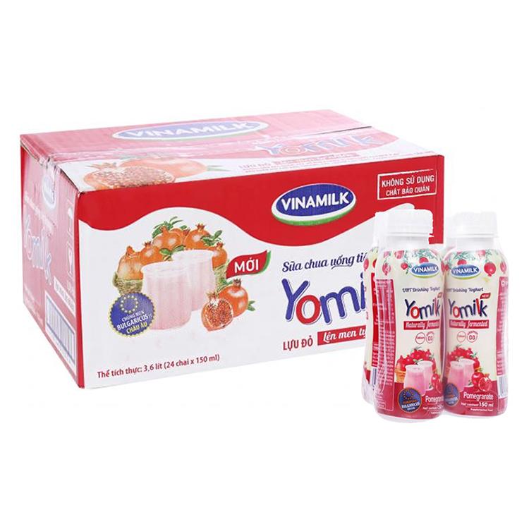Thùng 24 Chai Sữa Chua Uống Vinamilk Lựu Đỏ (150ml) - 18606630 , 8587318124199 , 62_21969525 , 176000 , Thung-24-Chai-Sua-Chua-Uong-Vinamilk-Luu-Do-150ml-62_21969525 , tiki.vn , Thùng 24 Chai Sữa Chua Uống Vinamilk Lựu Đỏ (150ml)