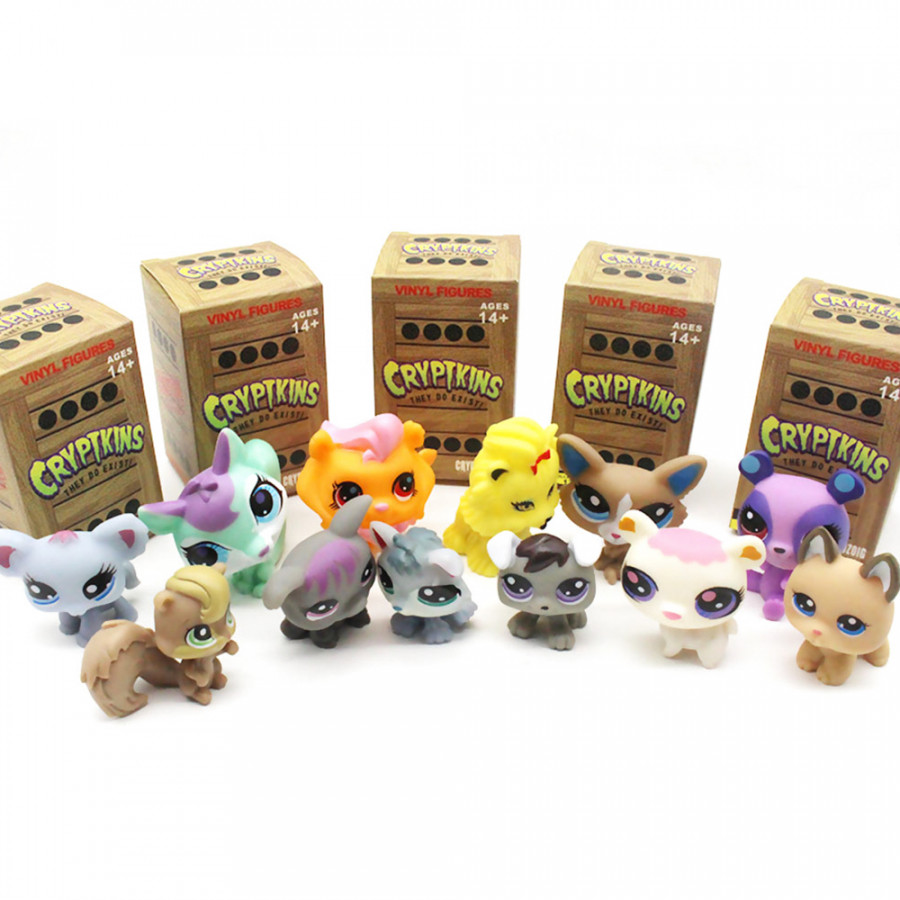 2in Cryptkins Series 1 Blind Box Vinyl Figure Collectible Toy Mystery Pack Random Delivery