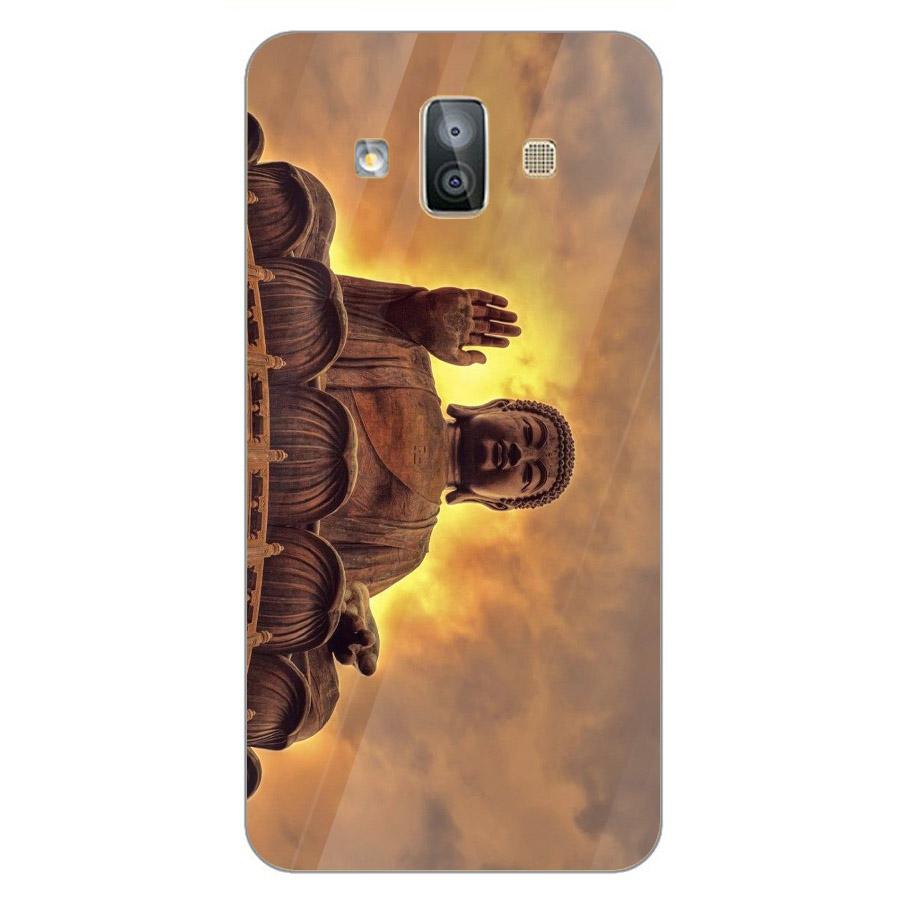 Ốp điện thoại kính cường lực cho máy Samsung Galaxy J7 Duo - Tôn giáo MS TGIAO028 - Hàng Chính Hãng