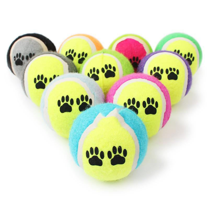 Đồ chơi banh tennis cho chó mèo (Giao ngẫu nhiên)