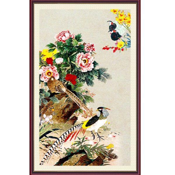 Tranh dán tường 3D vải lụa cao cấp hình chim công Khổng Tước và hoa - KT - 2151577 , 4871251206611 , 62_13740381 , 600000 , Tranh-dan-tuong-3D-vai-lua-cao-cap-hinh-chim-cong-Khong-Tuoc-va-hoa-KT-62_13740381 , tiki.vn , Tranh dán tường 3D vải lụa cao cấp hình chim công Khổng Tước và hoa - KT
