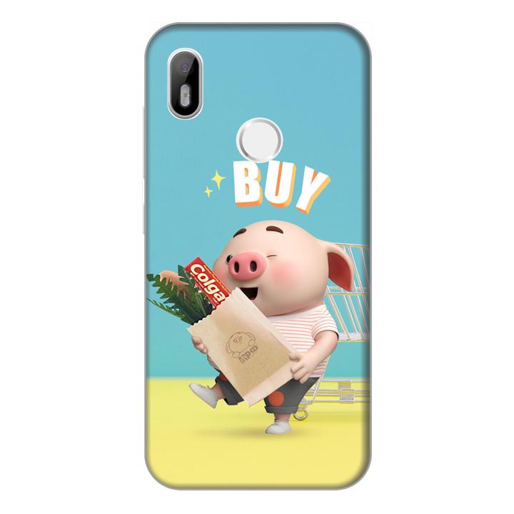 Ốp lưng điện thoại Vsmart Joy 1 hình Heo Con Mau Sắm - Hàng chính hãng