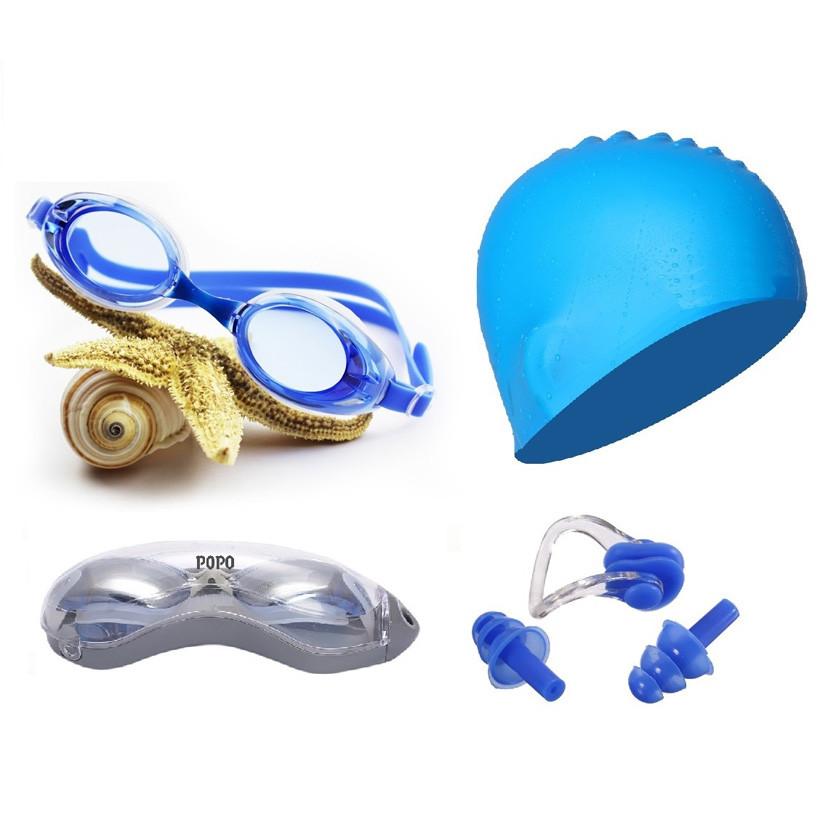 Bộ kính bơi mắt trong 1153, mũ bơi, bịt tai kẹp mũi PoPo Collection . - 967393 , 5198309580561 , 62_5174869 , 199000 , Bo-kinh-boi-mat-trong-1153-mu-boi-bit-tai-kep-mui-PoPo-Collection-.-62_5174869 , tiki.vn , Bộ kính bơi mắt trong 1153, mũ bơi, bịt tai kẹp mũi PoPo Collection .