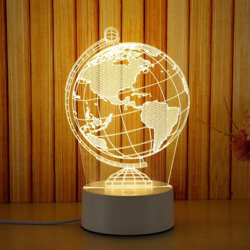 Đèn ngủ, đèn trang trí, Led 3D - 971089 , 9952854615279 , 62_5346953 , 140000 , Den-ngu-den-trang-tri-Led-3D-62_5346953 , tiki.vn , Đèn ngủ, đèn trang trí, Led 3D
