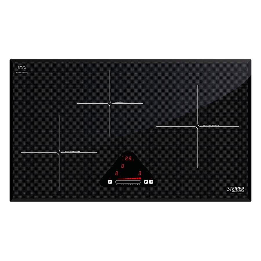 Bếp Điện Từ 3 Vùng Nấu Steiger STG-IDK310 (6700W) - Hàng chính hãng