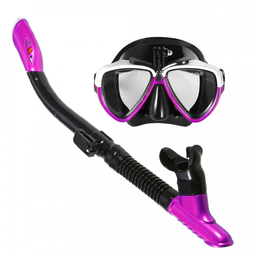 Lixada Snorkeling Mask Snorkel Set Anti-fog Swimming Diving Goggles with Easy Breath Dry Snorkel Tube - 2231910 , 9738773355645 , 62_14337258 , 588000 , Lixada-Snorkeling-Mask-Snorkel-Set-Anti-fog-Swimming-Diving-Goggles-with-Easy-Breath-Dry-Snorkel-Tube-62_14337258 , tiki.vn , Lixada Snorkeling Mask Snorkel Set Anti-fog Swimming Diving Goggles with Ea
