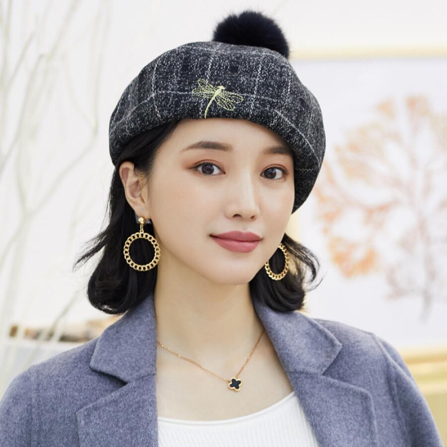 Mũ Beret Nữ Thời Trang Hàn Quốc 677888