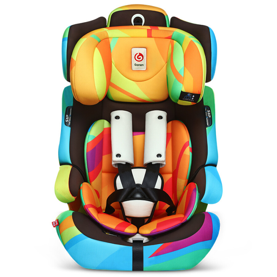 Grateful (ganen) baby car child safety seat Ares steel skeleton car isofix hard interface 9 months-12 years old dreamer