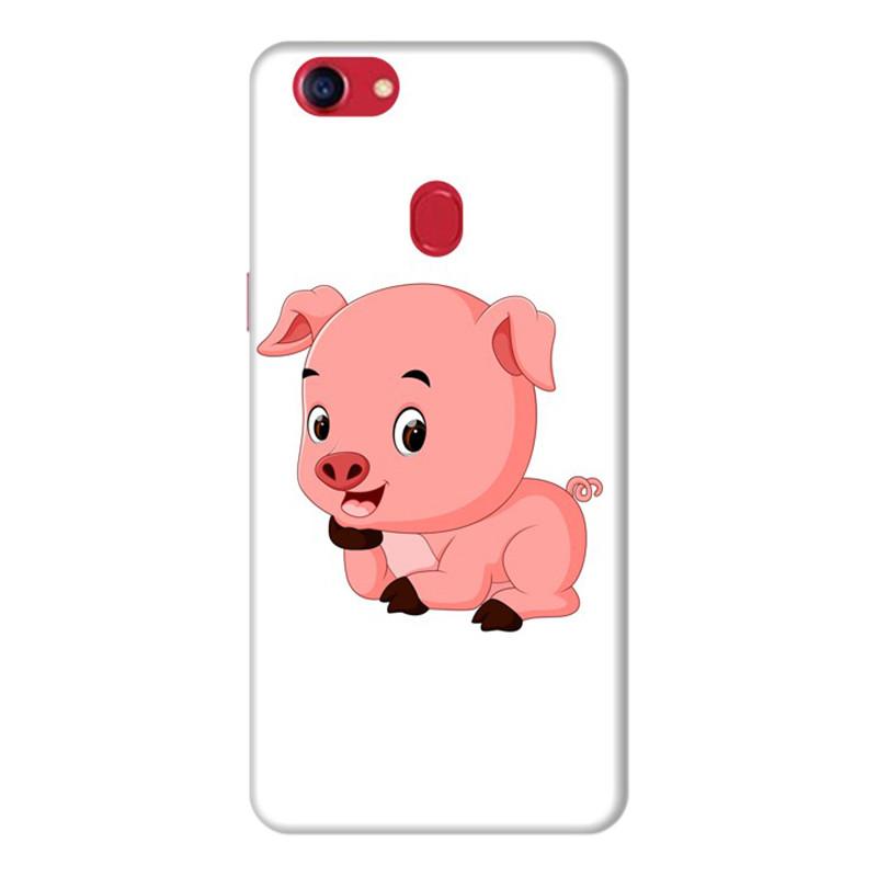 Ốp Lưng Dành Cho Điện Thoai Oppo F7 Pig Pig - Mẫu 1