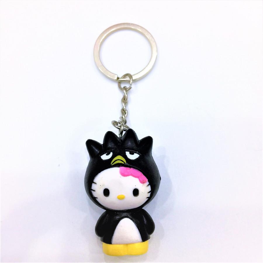 Móc khóa hình mèo đen tai tròn đáng yêu - 0.5COUPLE