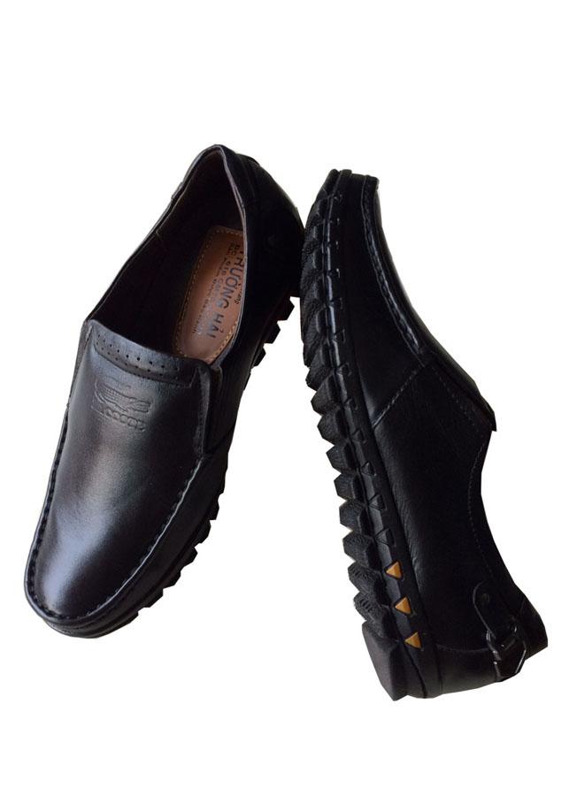 Giày mọi nam đế cao da bò cao cấp
