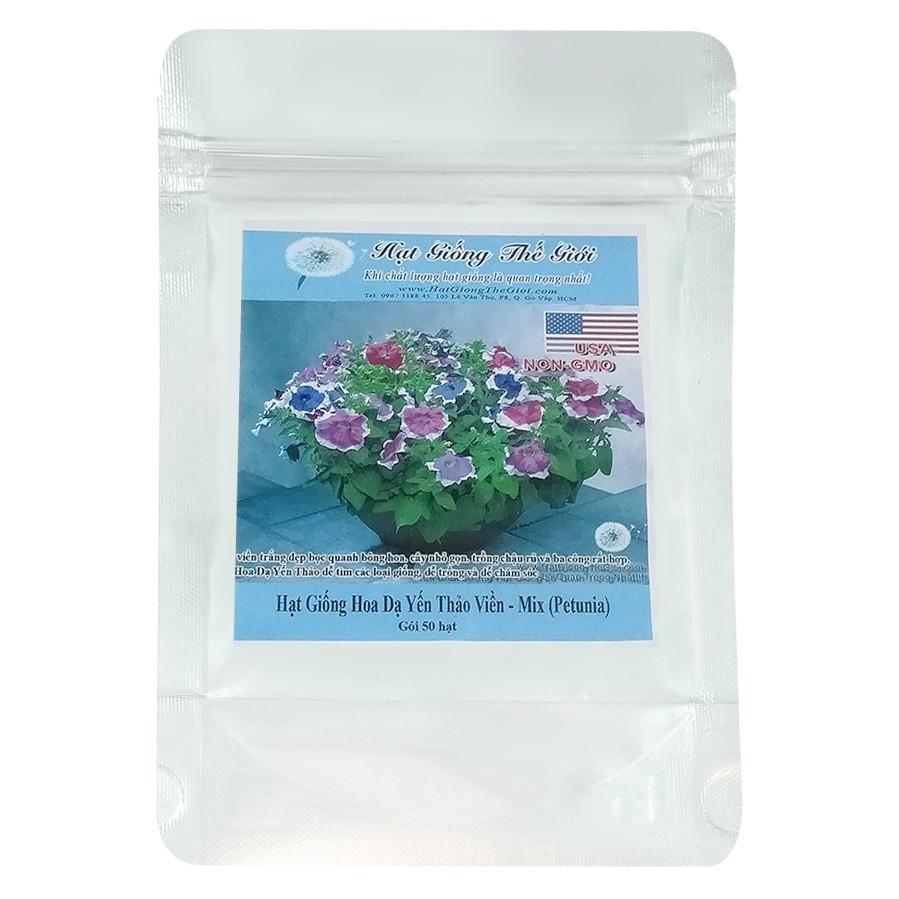 Hạt Giống Hoa Dạ Yến Thảo Viền - Mix - Petunia (50 Hạt) - 1893981 , 1622086275562 , 62_14516340 , 28500 , Hat-Giong-Hoa-Da-Yen-Thao-Vien-Mix-Petunia-50-Hat-62_14516340 , tiki.vn , Hạt Giống Hoa Dạ Yến Thảo Viền - Mix - Petunia (50 Hạt)