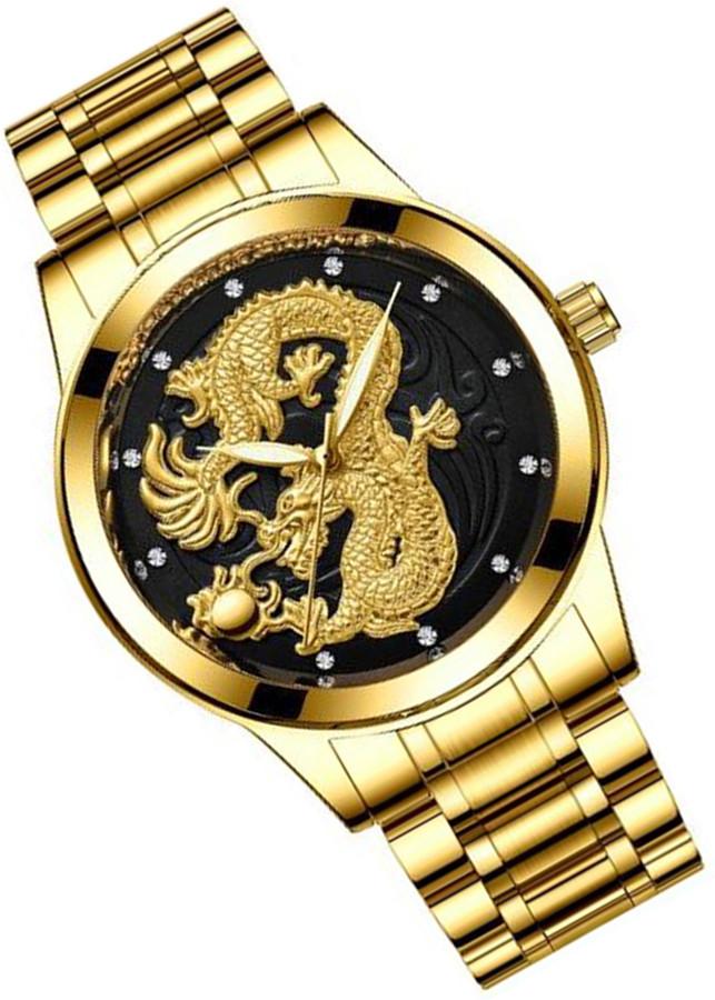 Đồng hồ thời trang nam đồng hồ nam rồng vàng chạm nổi 3D - 1020696 , 3445056688593 , 62_13311617 , 450000 , Dong-ho-thoi-trang-nam-dong-ho-nam-rong-vang-cham-noi-3D-62_13311617 , tiki.vn , Đồng hồ thời trang nam đồng hồ nam rồng vàng chạm nổi 3D