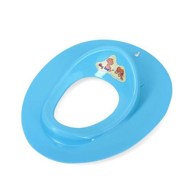 Bệ lót thu nhỏ bồn vệ sinh - xanh dương