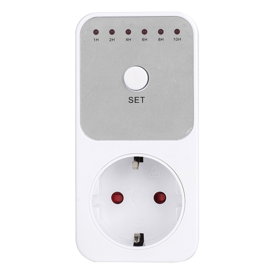 1-10 Hours Indoor Countdown Timer Socket Set Switch with Grounded Pin Energy Saving Plug - 1292162 , 9743521346936 , 62_13938950 , 277000 , 1-10-Hours-Indoor-Countdown-Timer-Socket-Set-Switch-with-Grounded-Pin-Energy-Saving-Plug-62_13938950 , tiki.vn , 1-10 Hours Indoor Countdown Timer Socket Set Switch with Grounded Pin Energy Saving Plug
