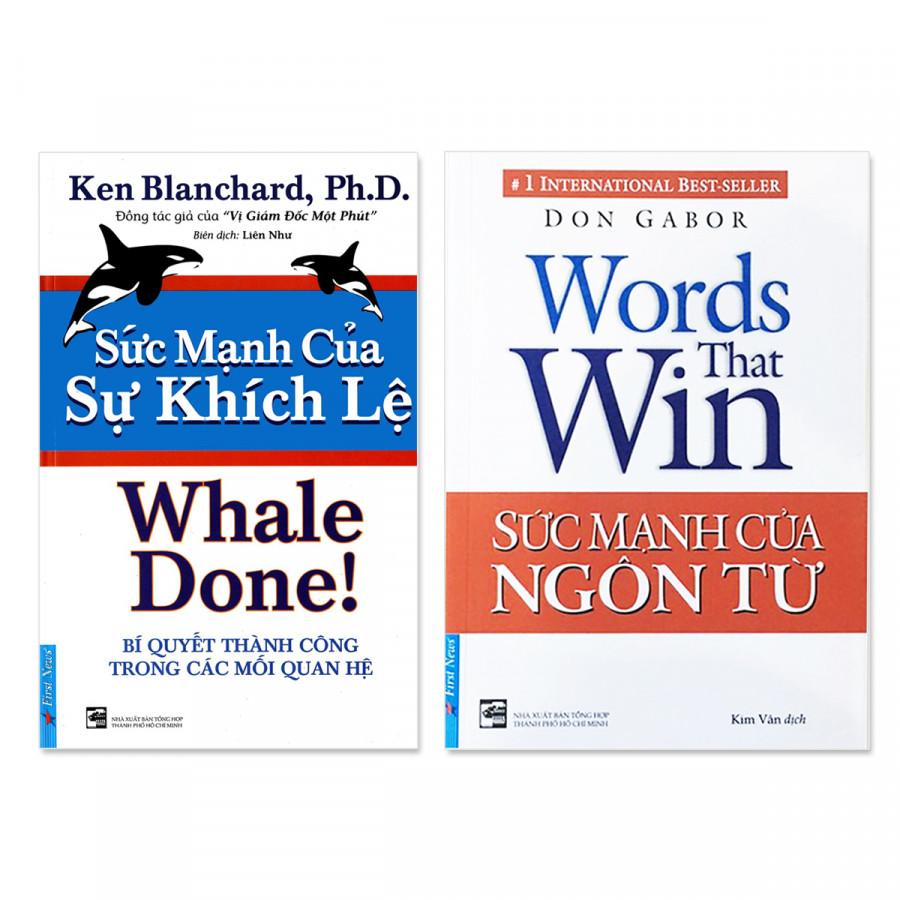 Combo 2 cuốn: Sức mạnh của sự khích lệ,  Sức mạnh của ngôn từ