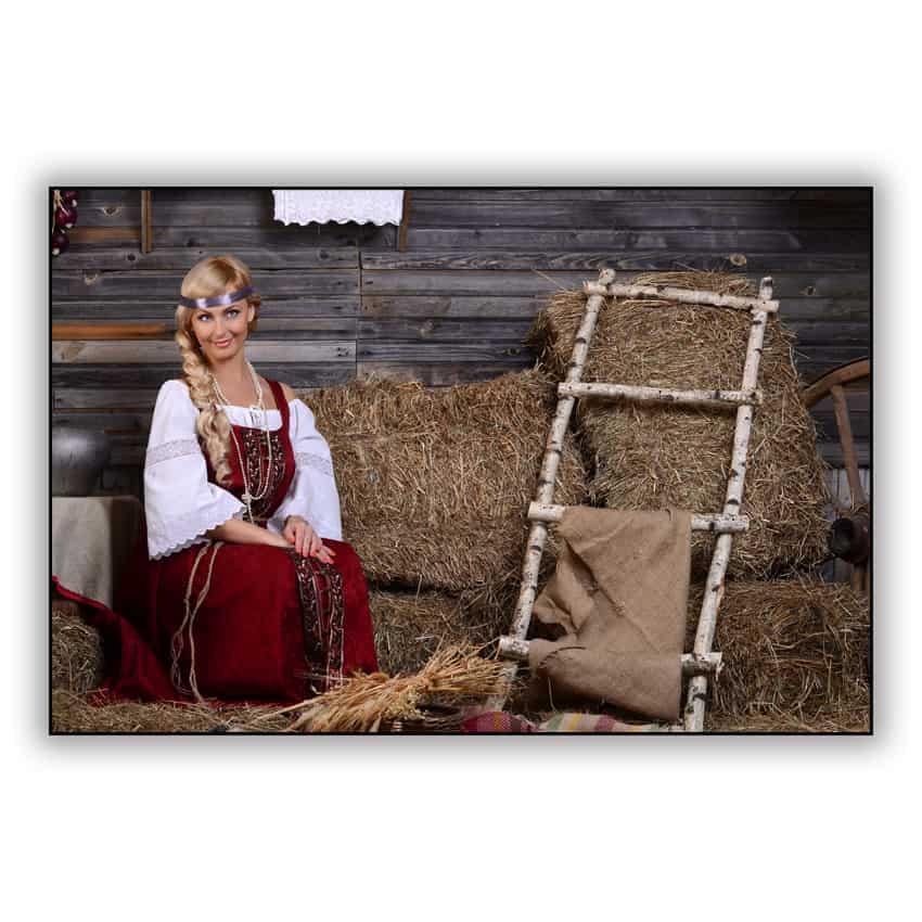 Tranh trang trí in Canvas Cô Gái Nga - 5174004 , 9188348789915 , 62_16975955 , 287000 , Tranh-trang-tri-in-Canvas-Co-Gai-Nga-62_16975955 , tiki.vn , Tranh trang trí in Canvas Cô Gái Nga