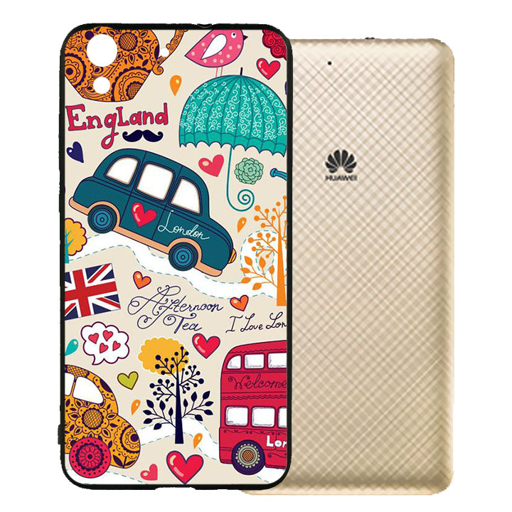 Ốp lưng viền TPU cho Huawei Y62 - London 01
