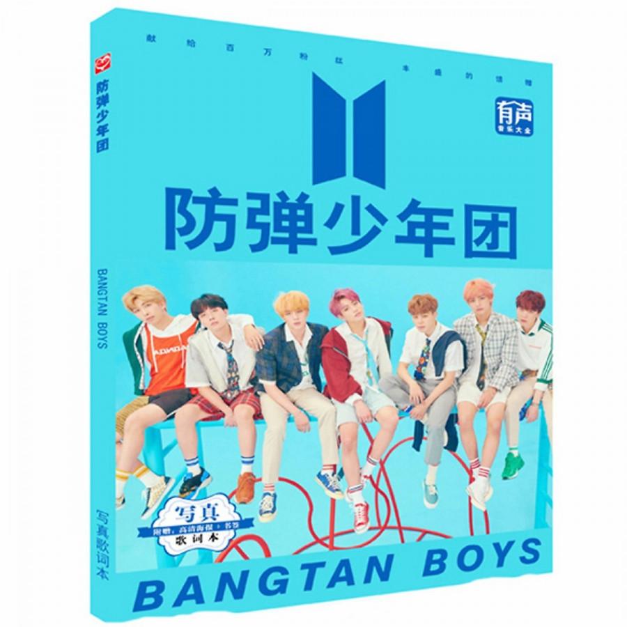 BTS Photobook A5 mới đẹp