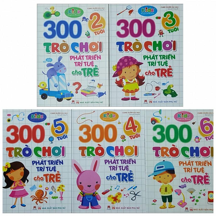 Combo 300 Trò chơi Phát Triển Trí Tuệ cho trẻ - ( 2 Tuổi, 3 tuổi, 4 Tuổi, 5 Tuổi, 6 Tuổi) - 1410308 , 4605282745814 , 62_7411979 , 224000 , Combo-300-Tro-choi-Phat-Trien-Tri-Tue-cho-tre-2-Tuoi-3-tuoi-4-Tuoi-5-Tuoi-6-Tuoi-62_7411979 , tiki.vn , Combo 300 Trò chơi Phát Triển Trí Tuệ cho trẻ - ( 2 Tuổi, 3 tuổi, 4 Tuổi, 5 Tuổi, 6 Tuổi)