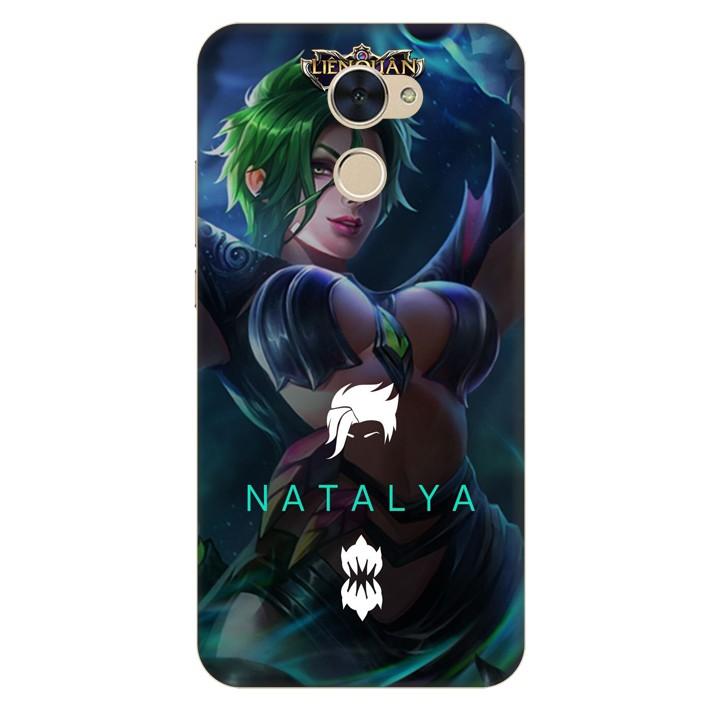 Ốp lưng nhựa cứng nhám dành cho Huawei Y7 Prime in hình Natalya
