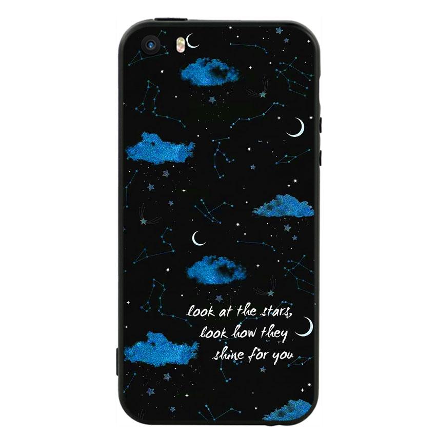 Ốp Lưng Viền TPU cho điện thoại Iphone 5 - Shine For You