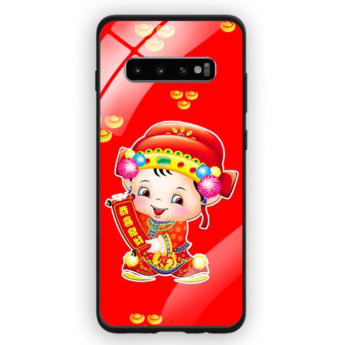 Ốp Lưng Kính Cường Lực Cho Điện Thoại Samsung Galaxy S10 Plus - 391 0052 THANTAI05 - Hàng Chính Hãng