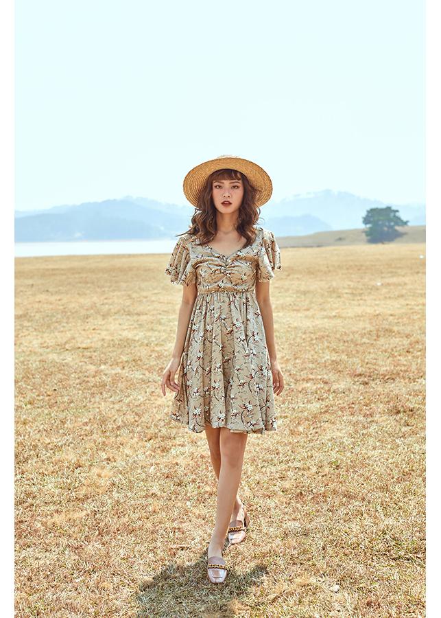 Đầm hoa cánh tiên - Burly Dress