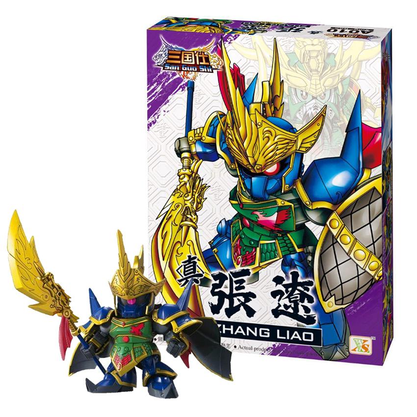 Bộ Ghép hình tuổi thơ Gundam Trương Liêu - Đồ chơi lắp ráp sáng tạo Tam Quốc A010 - 799694 , 4964637107234 , 62_13592682 , 199000 , Bo-Ghep-hinh-tuoi-tho-Gundam-Truong-Lieu-Do-choi-lap-rap-sang-tao-Tam-Quoc-A010-62_13592682 , tiki.vn , Bộ Ghép hình tuổi thơ Gundam Trương Liêu - Đồ chơi lắp ráp sáng tạo Tam Quốc A010