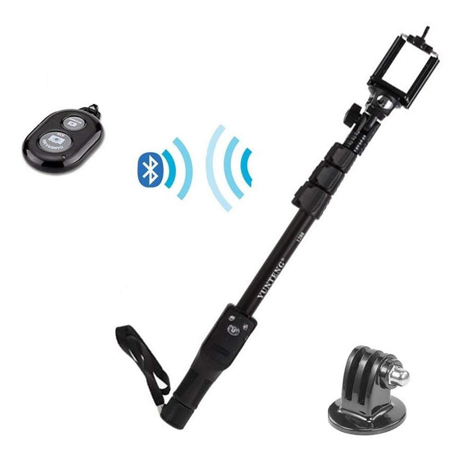 Gậy Tự Chụp Yunteng 1288 Có Remote Bluetooth - Hàng Nhập Khẩu