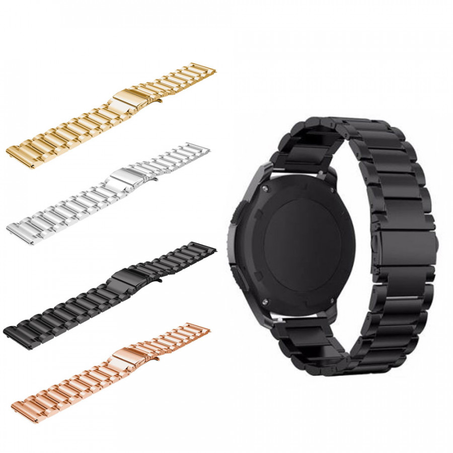 Watch Strap Wristband Luxury Metal 4 Colors Band Replacement for Samsung Gear S3 Classic/Frontier - 795008 , 9476653968744 , 62_13187323 , 467000 , Watch-Strap-Wristband-Luxury-Metal-4-Colors-Band-Replacement-for-Samsung-Gear-S3-Classic-Frontier-62_13187323 , tiki.vn , Watch Strap Wristband Luxury Metal 4 Colors Band Replacement for Samsung Gear S3