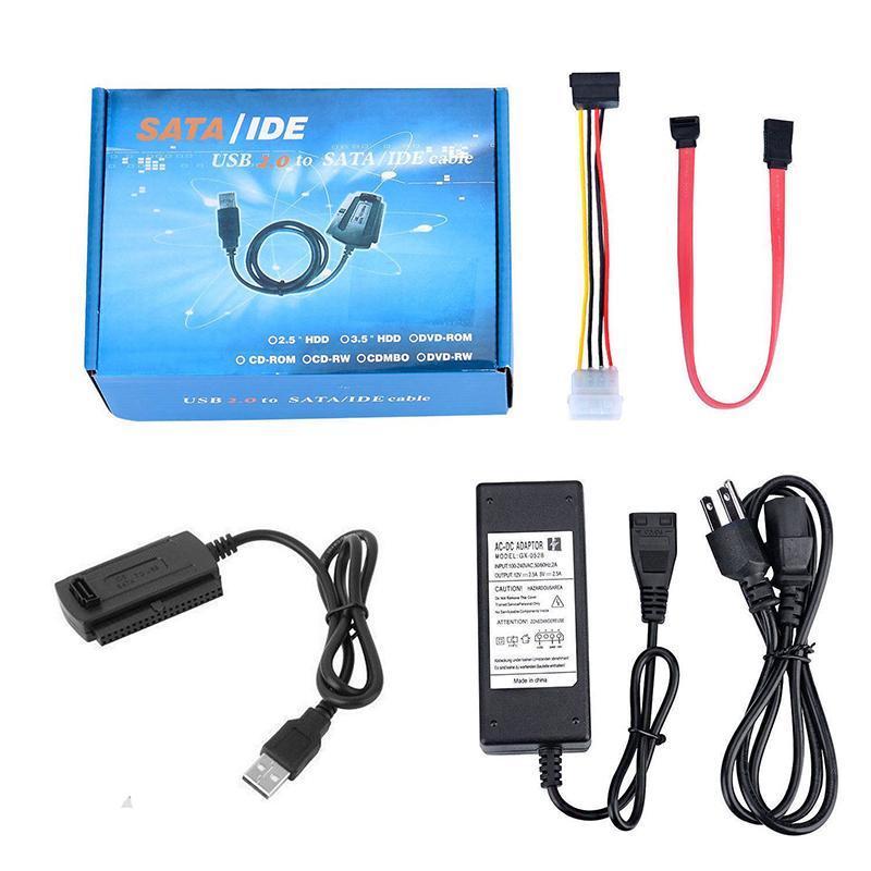 Bộ Chuyển Đổi USB 2.0 Sang Sata/Pata/Ide Cho Ổ Đĩa Cứng