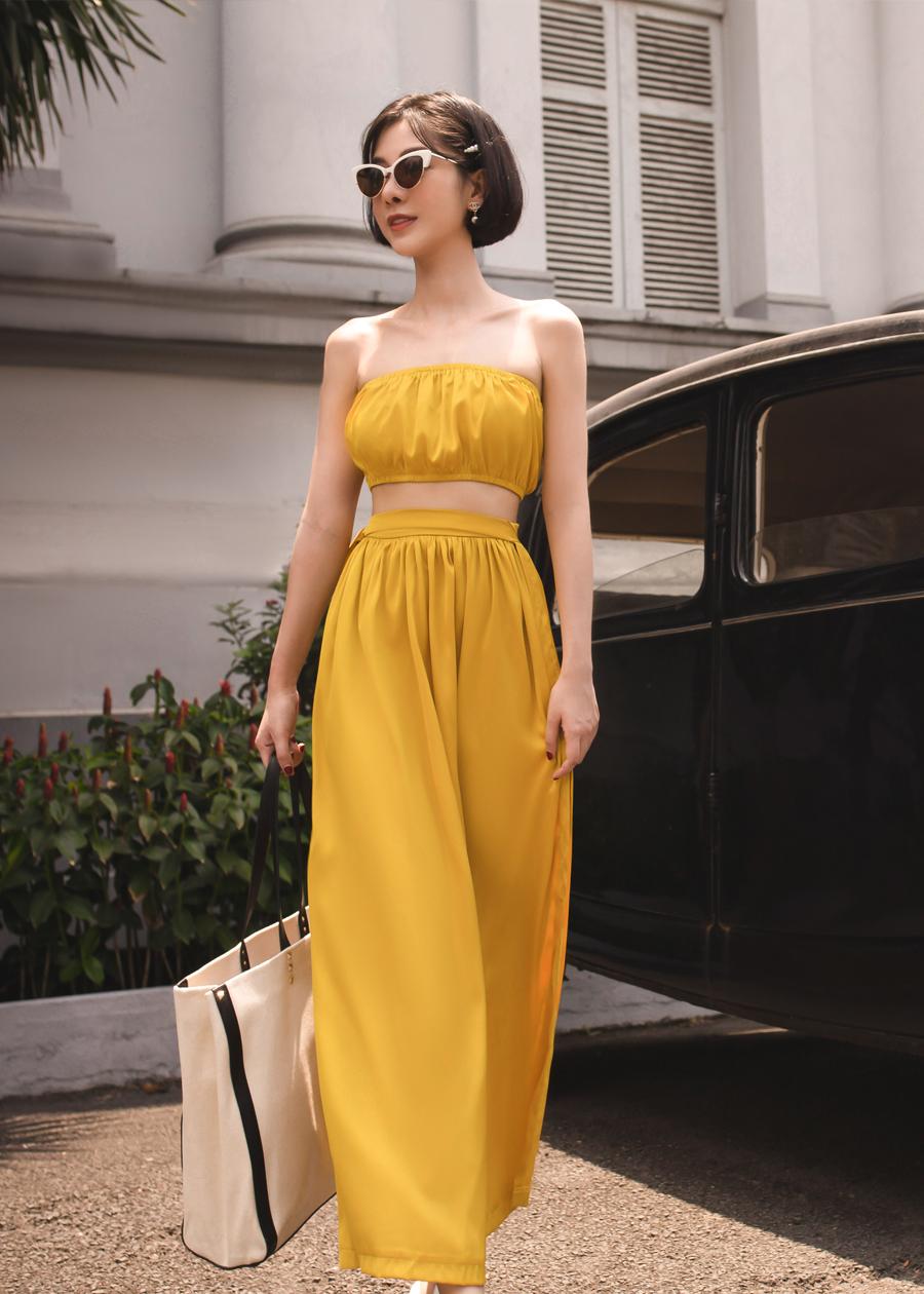 Bộ Váy Quây Màu Vàng Mustard Emwear - 1963164 , 9922692664432 , 62_14682844 , 1190000 , Bo-Vay-Quay-Mau-Vang-Mustard-Emwear-62_14682844 , tiki.vn , Bộ Váy Quây Màu Vàng Mustard Emwear