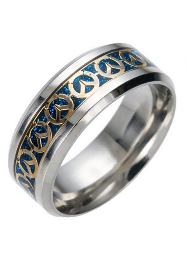Nhẫn nam titan họa tiết phong cách Âu Mỹ NN052