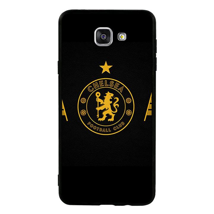 Ốp lưng nhựa cứng viền dẻo TPU cho Samsung Galaxy A9/A9 Pro  - Clb Chelsea 03