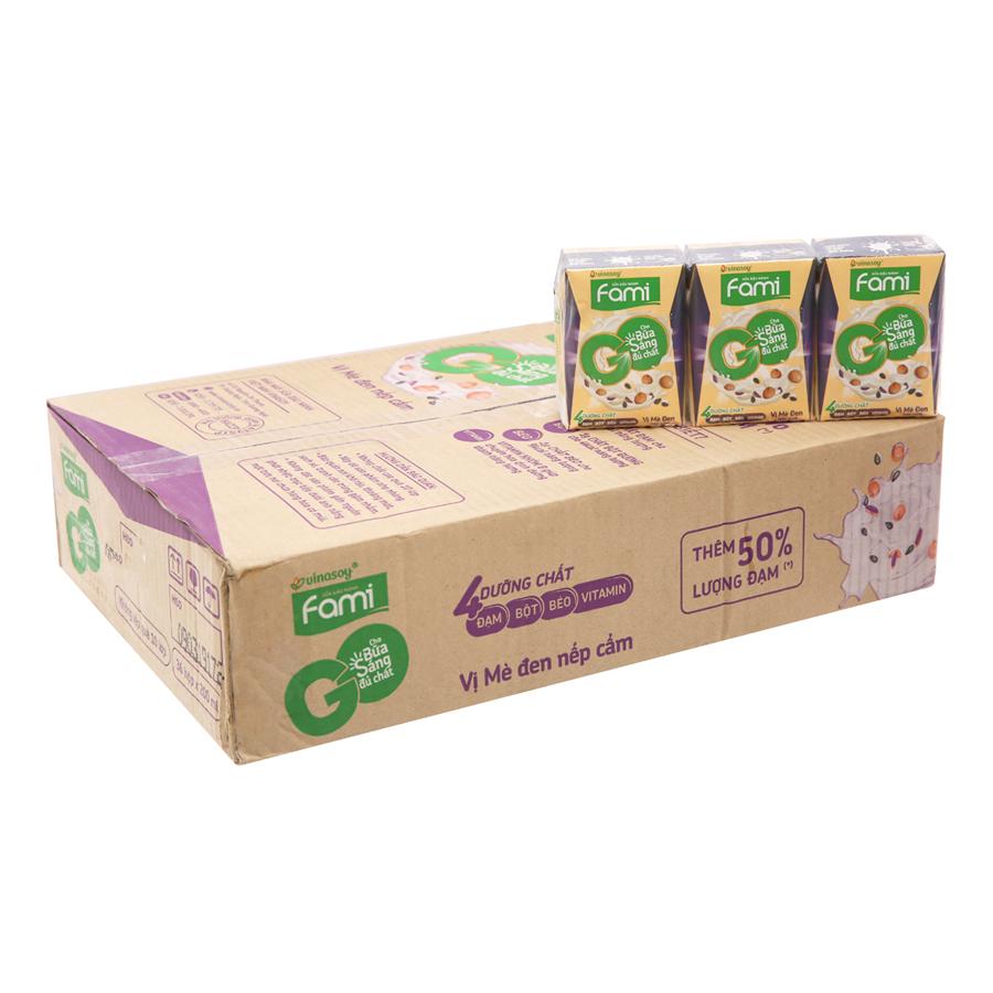 Thùng Sữa đậu nành FamiGo mè đen nếp cẩm (200ml x 36 Hộp) - 1773105 , 2295515122653 , 62_12629737 , 249000 , Thung-Sua-dau-nanh-FamiGo-me-den-nep-cam-200ml-x-36-Hop-62_12629737 , tiki.vn , Thùng Sữa đậu nành FamiGo mè đen nếp cẩm (200ml x 36 Hộp)