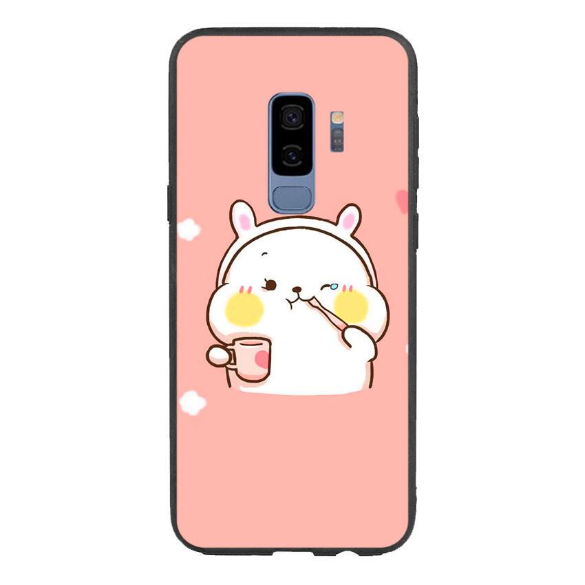 Ốp lưng viền TPU cho điện thoại Samsung Galaxy S9 Plus - Cute 06