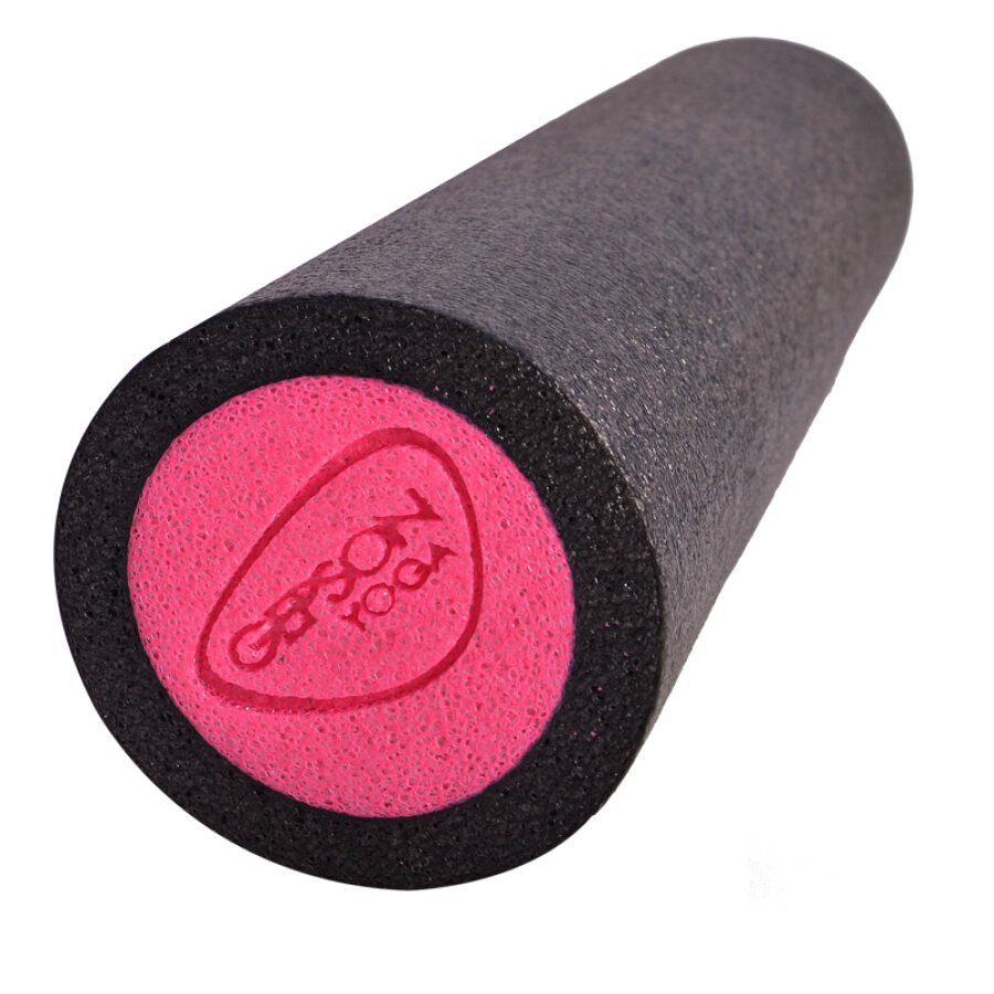 GEPSON Yoga Column 45*15cm Fitness Yoga Column Slimming Foam Axle Balance Bar Massage Relaxing Muscle Pilates Yoga Column Backpack Blue Blue