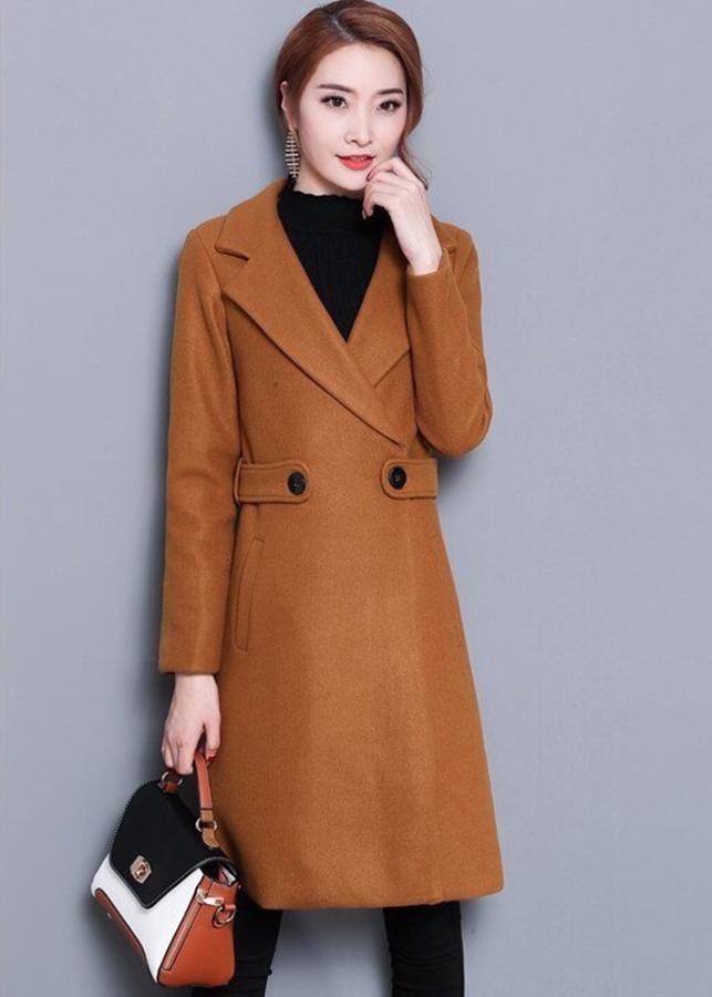 Áo khoác dạ đẹp kiểu áo khoác mang to cao cấp AKD1470
