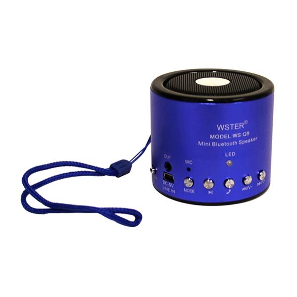Loa Bluetooth Đa Năng Wster WS-Q9 - Hàng Chính Hãng - 16245412 , 2509111605824 , 62_27815568 , 153000 , Loa-Bluetooth-Da-Nang-Wster-WS-Q9-Hang-Chinh-Hang-62_27815568 , tiki.vn , Loa Bluetooth Đa Năng Wster WS-Q9 - Hàng Chính Hãng